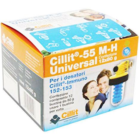 El embalaje de sales, polifosfatos, universal 55 M-H 12 bolsitas de 80g 10048