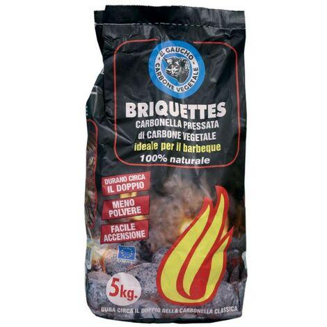 """""""El Gaucho"""" charbon de bois briquettes 3 kg pour barbecues cheminées"""