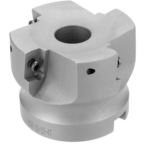 El inserto de carburo BAP 400R50-22-4T sujeto con abrazadera el fresado frontal que trabaja a maquina del molino de extremo de la aleacion de alimentacion rapida