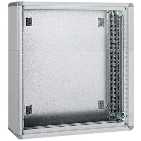 El marco de la pared Bticino MAS chapa metálica modular LDX400 93630Q