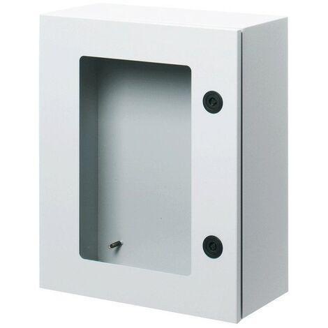 El marco de metal, con puerta transparente 405x500x200 IP55 GW46233