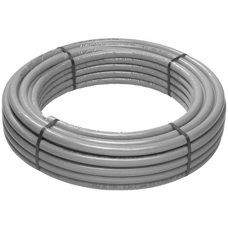 El multi-capa de tubo de Giacomini PEX-b/Al/PEX-b 16 x 2.10 mm, gris R999IY120