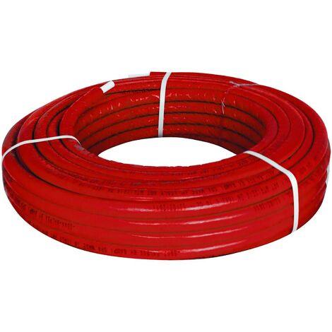 El multi-capa de tubo de Giacomini PEX-b/Al/PEX-b 16 x 2.6 mm rojo R999IY220