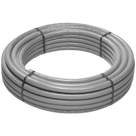 El multi-capa de tubo de Giacomini PEX-b/Al/PEX-b 20 x 2.13 mm gris R999IY140