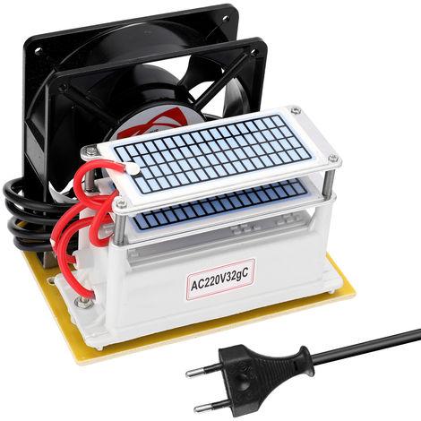 El ozono 32g / h Generador, formaldehido quita la maquina, purificador de aire del ventilador