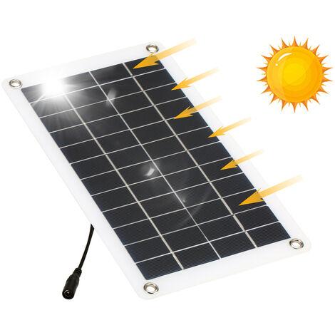 El panel solar de 12V 7.5W, celula solar monocristalina del silicio, para el infante de marina del barco del coche del iPhone