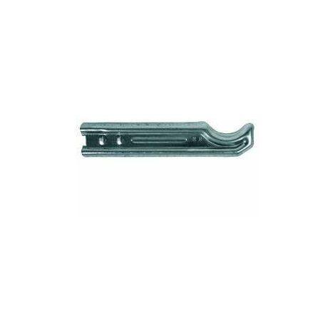 El radiador de acero zincado soporta las tradicionales columnas tipo 4 para ser selladas 29 cm.