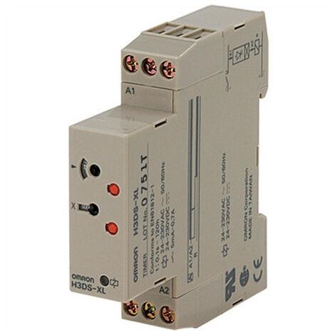 El temporizador electrónico Omron ANALDIN H3DSXLBYOKX-1717
