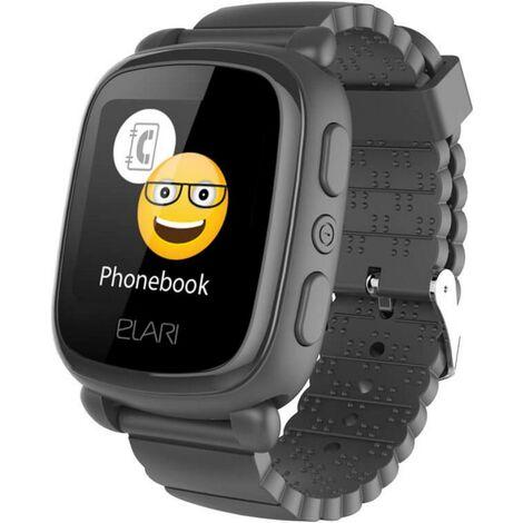 Elari KidPhone 2 GPS Tracker Personentracker Schwarz C012761