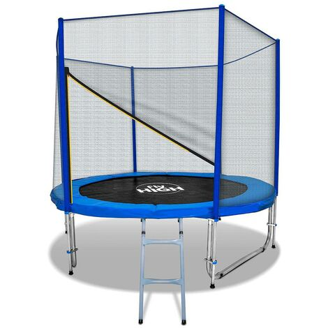 Elastic Trampoline Jumping 250Cm (8Ft) With Net And Ladder With Tuv/Gs Certificate