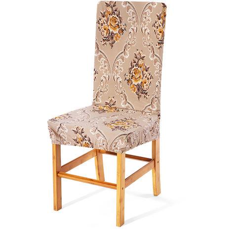 Elastischer Stuhlbezug Waschbarer Sitzbezug für Hochzeitsesszimmer