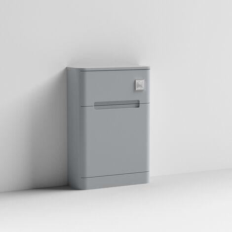 Elbe 550mm Satin Grey WC Unit