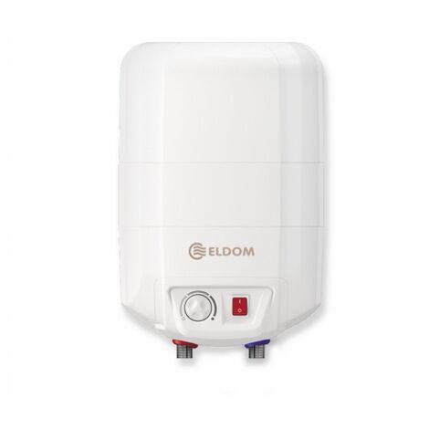 Eldom boiler 10 liter over-sink-model 2 Kw. pressurised.