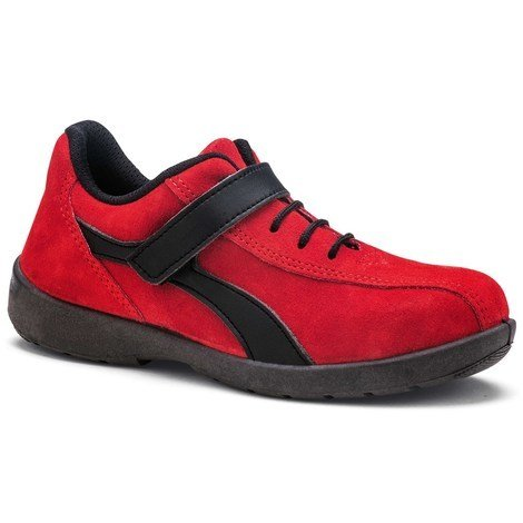 S 35 Indoor Basse Chaussure Taille Elea Rouge S1p 24 Femme 9912 rBoedxCW