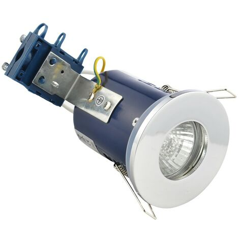 Electralite IP65 Fire Rated Downlight - Chrome