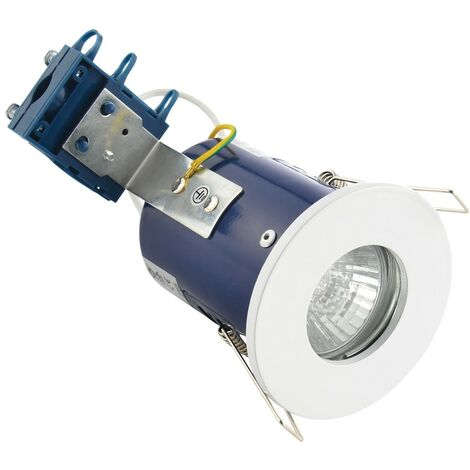 Electralite IP65 Fire Rated Downlight - White