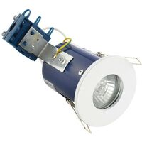 Electralite IP65 Fire Rated Fire Rated Downlight - White