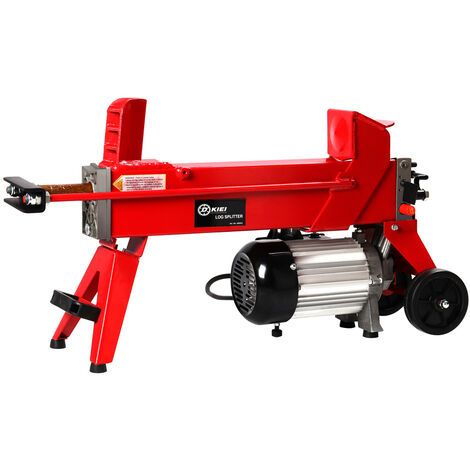 Electric 5 Ton Hydraulic Log splitter Fast wood timber cutter 2200 W of power