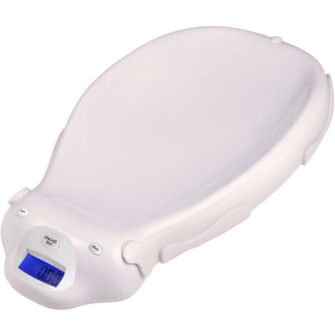 Electric Baby Scale, Baby Scale, Pink, Size: 65.4 x 33.2 x 11.6 cm