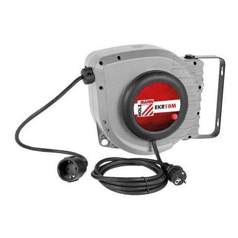 ELECTRIC CABLE REEL RETRACTABLE EXTENSION 10 MT 230V HOLZMANN EKR10M