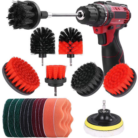 """main image of """"Electric drill cleaning accessories 21 piece set (without electric drill)"""""""