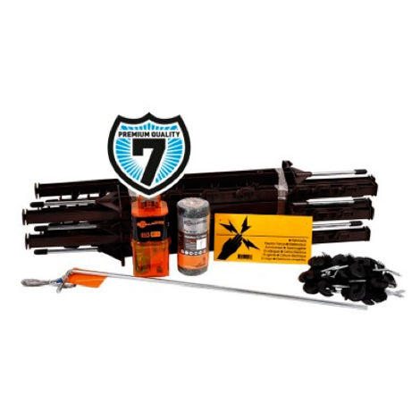 Electric fence kit for garden and pond B10 9V/12V Gallagher