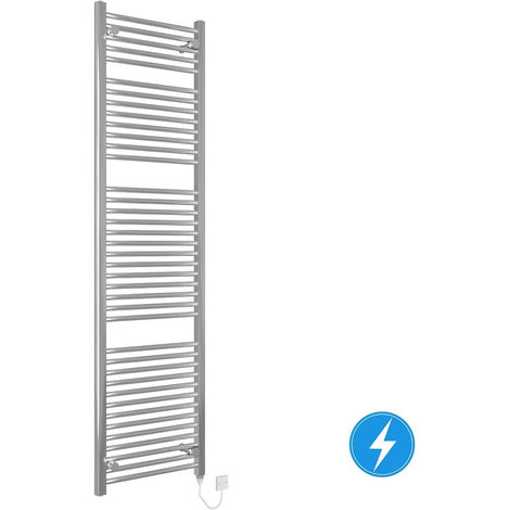 Electric Heated Bathroom Towel Rail Warmer Radiator 800W 1800x500 Chrome