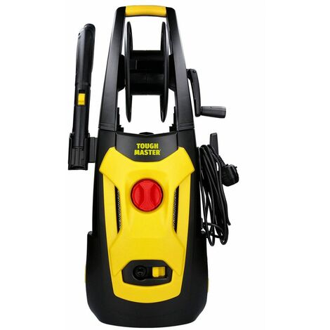 Electric High-Power Pressure Washer 140Bar 1800W for Patio Cars Outdoor Surfaces