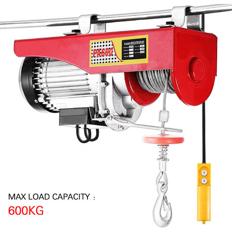 Electric hoist with traction force 600kg £¬ 1050W