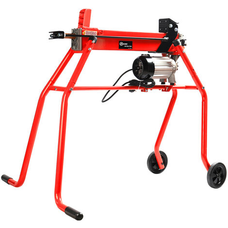 Electric Hydraulic Log Splitter & Stand 6 Ton Fire Wood Timber Cutter