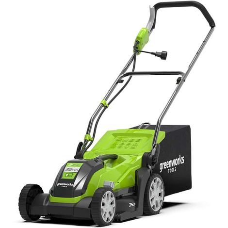 Electric lawnmower 35 cm GREENWORKS 1000W - GLM1035