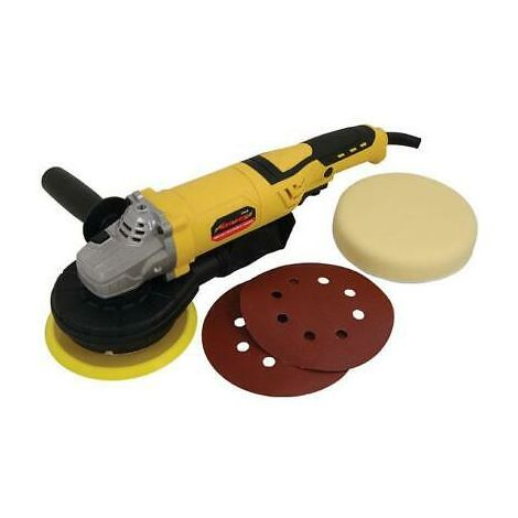 Electric Orbital Polisher / Sander with Pads & Discs