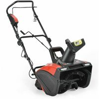 Electric Push Snow Blower with Adjustable Discharge Chute