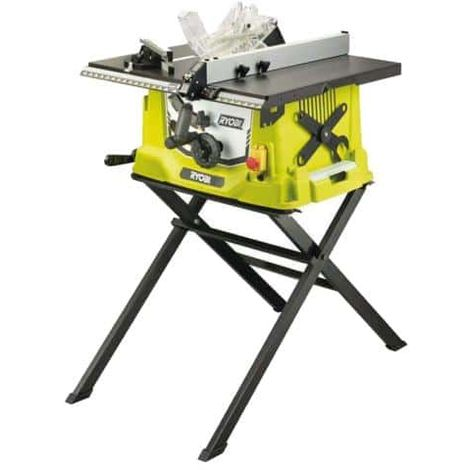 Electric table saw RYOBI 1800W 254mm - retractable stand - RTS1800S-G