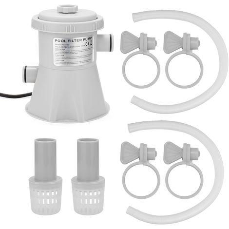 Electrica piscina filtro de la bomba reutilizable Practico piscina filtro purificador de agua Facil de instalar