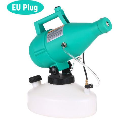Electrico ULV Nebulizador portatil ultra-bajo volumen atomizador pulverizador fina niebla soplador de Pesticidas nebulizador 4.5L, Verde