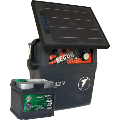 Electrificateur batterie / pile - SECUR STAR 10W - Lacmé