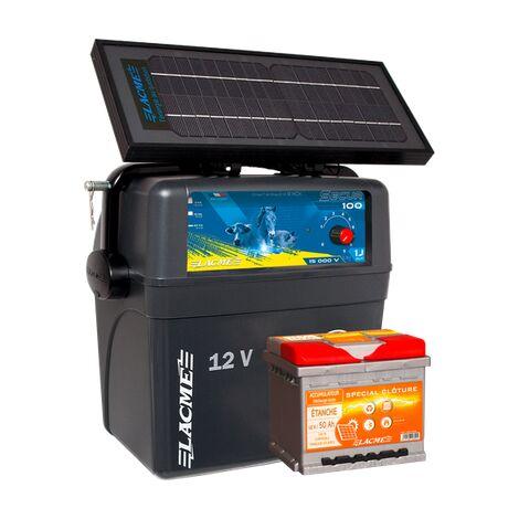 Electrificateur batterie - Secur Solis - Lacmé