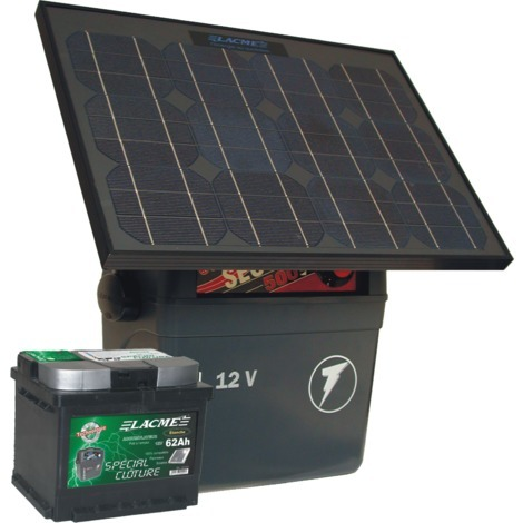 Electrificateur batterie - SECUR SUN+ 25W - Lacmé