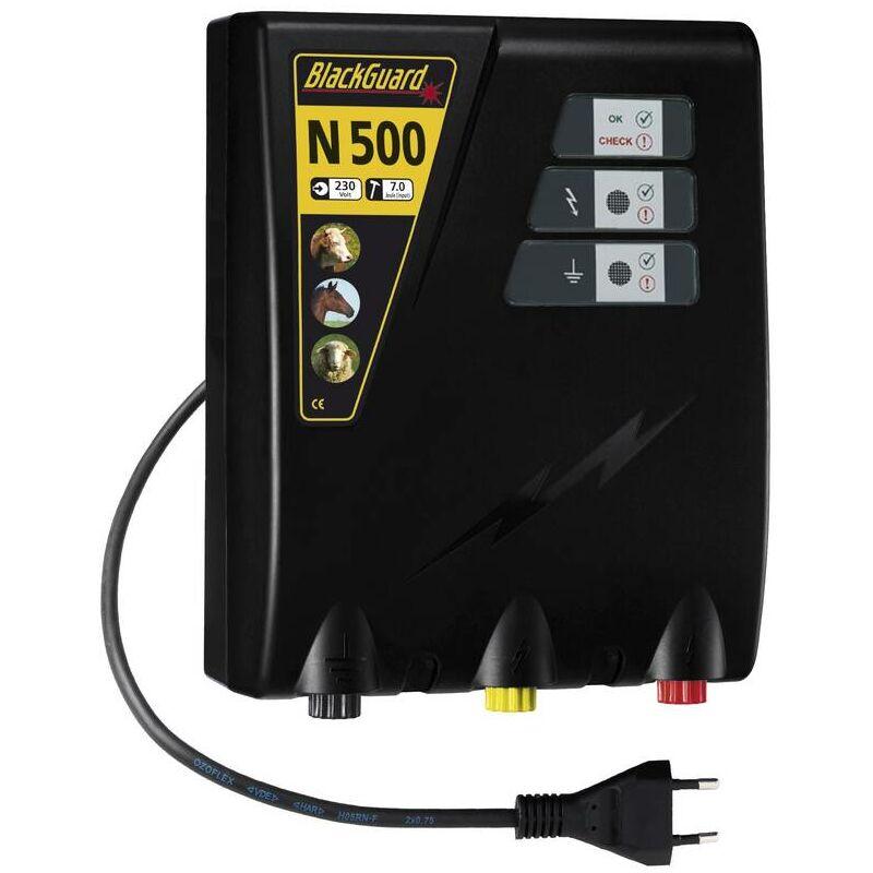 Électrificateur de clôture 230V 5,0J - N500 - Blackguard