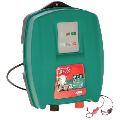 Electrificateur de clôture Mobil Power Ako AN 5500