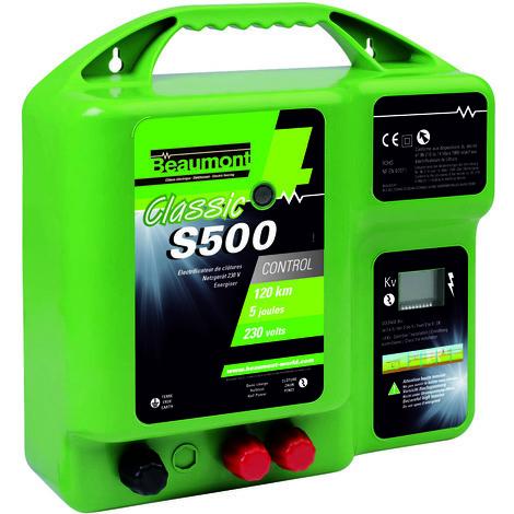 Electrificateur secteur - CLASSIC S500 R6 - UKAL