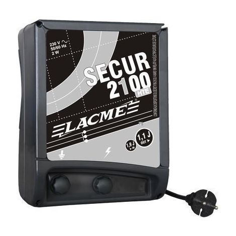 Electrificateur secteur - SECUR 2100 HTE - Lacmé