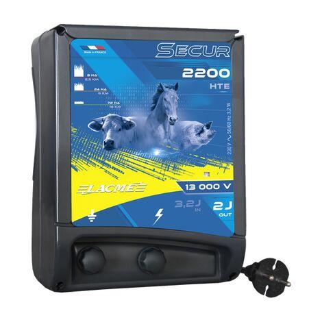 Electrificateur secteur - SECUR 2200 HTE - Lacmé