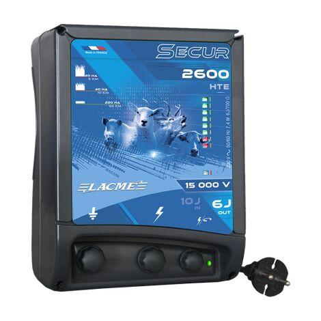 Electrificateur secteur - SECUR 2600 HTE - Lacmé