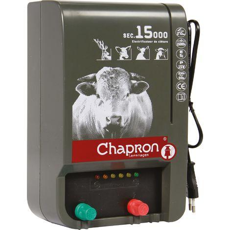 Electrificateur sur secteur SEC 15 000 V Chapron Lemenager