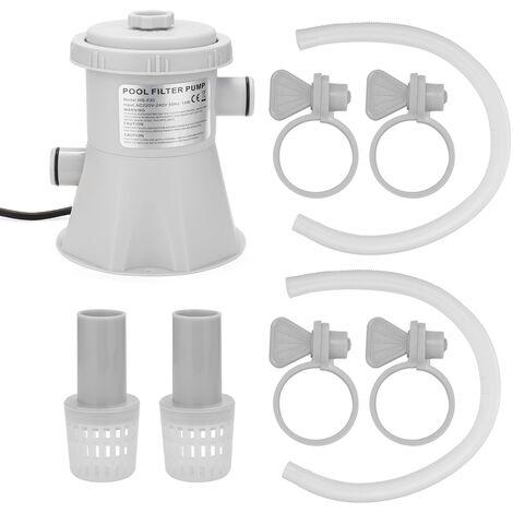 Electrique Piscine Filtre Pompe Reutilisable Pratique Piscine Filtre Purificateur Eau Facile A Installer