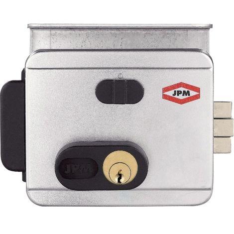 Électro-serrure en applique - Cylindre 1 entrée et bouton - Série 515 - JPM