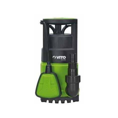 Electrobomba Plastica Sumergible Aguas Limpias 400W Vito agro