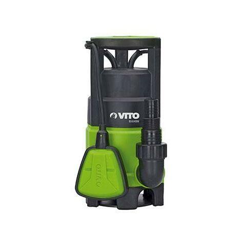 Electrobomba Plastica Sumergible Aguas Sucias 400W Vito agro